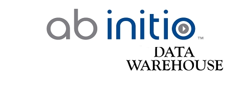 Image contain the text - Ab initio data warehouse, which is show for abinitio training in chennai & ab initio online training